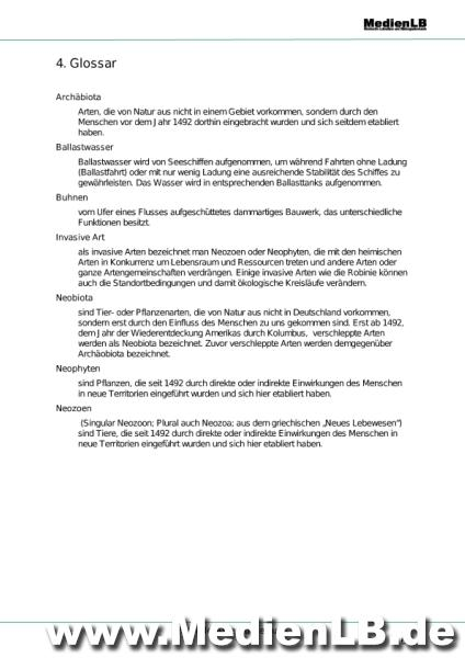 Luxury Invasive Arten Arbeitsblatt Frieze - Mathe Arbeitsblatt ...
